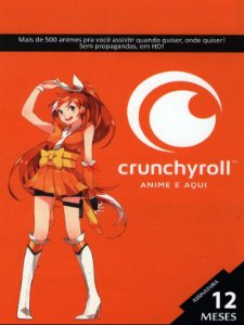 Crunchyroll - Cartão Assinatura Premium 12 Meses