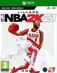 NBA 2K21 - Xbox One - Mídia Digital