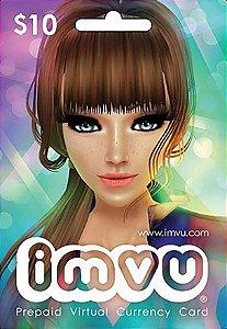 IMVU - Cartão Pré-Pago R$10,00