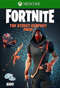 Fortnite : Pacote Pacote Serpente Urbana - Xbox One - Código de 25 Dígitos