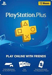 Playstation - Cartão PSN Plus 12 meses Brasil [PROMO 25% OFF]