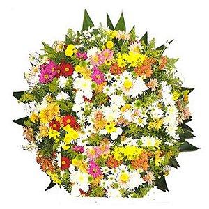 2 - Coroa de Flores para Velório - Pesâmes