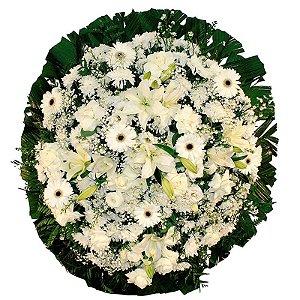 8 - Coroa de Flores para Velório - Lágrimas