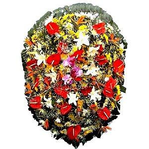Coroa de Flores para Velório - Emoções