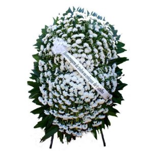 9a - Coroa de Flores para Velório - Paz