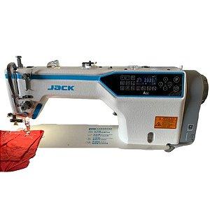 Máquina De Costura Industrial Reta Jack A5e Branca 240v