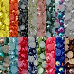 Meia Perola 6 mm Pacote 16g Com Diversas Cores Para Escolher