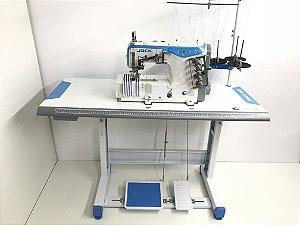 Máquina Galoneira 5 Fios Plana Fechada W4 JACK (Direct Drive)