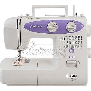 Maquina De Costura Confiance Jx - 6000 Elgin 220v Rudimak