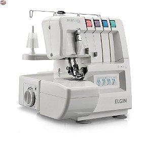 Máquina de Costura Overlock Elgin OV 1000 Portátil Branca - 220V rudimak