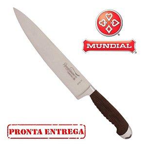 Faca Inox Cabo Madeira 3310-8 Renaissance - Mundial