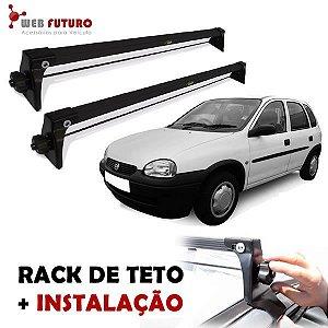 Rack De Teto Chevrolet Corsa 2 E 4 Portas Com Instalação