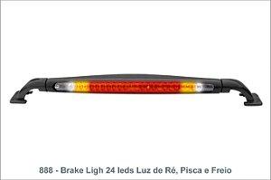Brake Light 24 Leds Luz de Ré, Pisca e Freio - Vhip