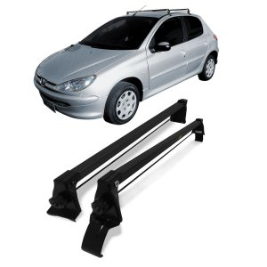 Rack Teto Vhip Peugeot 206 207 4 P 99 00 01 02 03 04 05 A 15