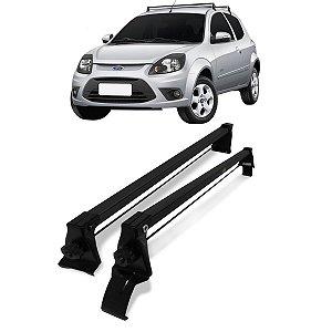 Rack Bagageiro Aço de Teto Ford Ka 2008 até 2013 Vhip