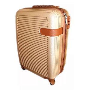 Mala Viagem Bagagem Mão Avião C/ Trava De Segurança Embutida