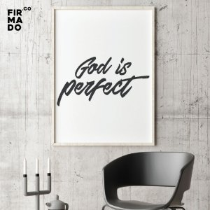 GOD IS PERFECT