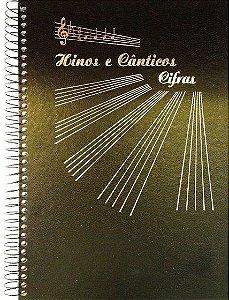 HINOS & CÂNTICOS COM CIFRA, tamanho A4