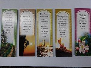 Marca Páginas com versículos (pacote com 18 diferentes)