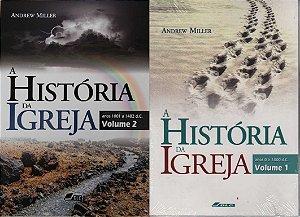 História da Igreja, volumes 1 e 2 (anos 0 a 1482 d.C.) - pacote promocional