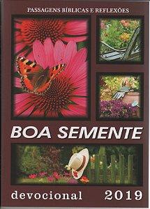 BOA SEMENTE (TRADICIONAL); capa FLORAL; 4-39 exemplares utilizae cupom BST439; 40 ou mais utilizae cupom BST40