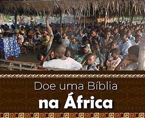 Doe uma BÍBLIA na ÁFRICA
