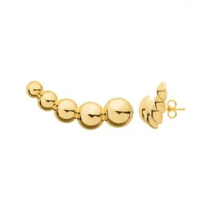 PB3273 BRINCO EAR CUFF - 10 PARES