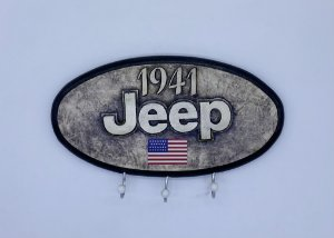 PORTA CHAVES JEEP