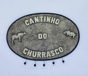 PORTA CHAVES CANTINHO DO CHURRASCO