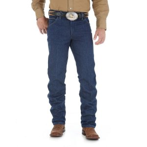 calça jeans cowboy cut regular fit wrangler 47m.wz.pw