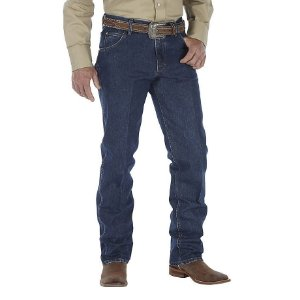 calça jeans cowboy cut regular fit wrangler 47m.cv.ds