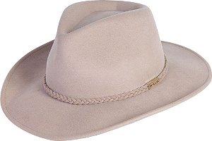 chapéu pralana classic soft feltro bege 11251