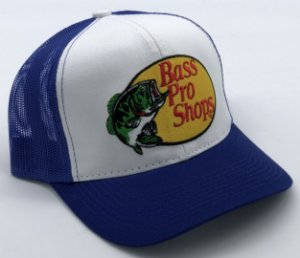 Boné Bass Pro Shops Azul Royal Bordado 7509