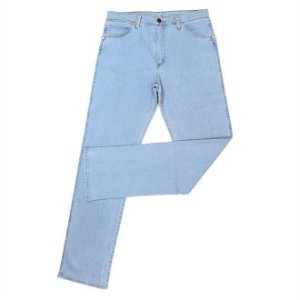 calça jeans delavê cowboy cut wrangler 13m.we.sb.36