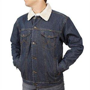jaqueta jeans masculina western cowboy cut - wrangler 366.3d.pw.50
