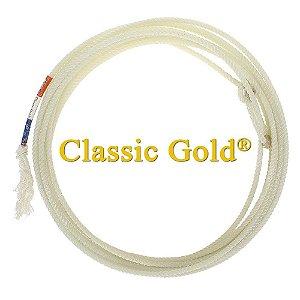 Corda Classic Gold 3 Tentos Para Laço Em Dupla