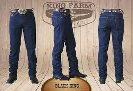 CALÇA KING FARM BLACK