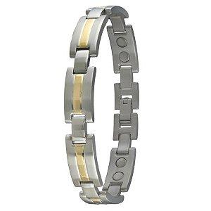 pulseira sabona titanium magnetic