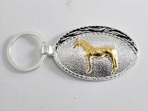 chaveiro fivelinha cavalo crioulo sumetal ch0613