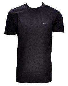 camiseta basic preta 7147b2j9 - wrangler
