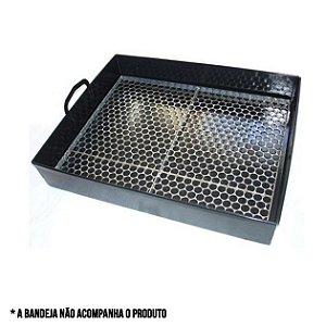 grelha para bandeja churrasqueira apolo plus 7 espetos - weber