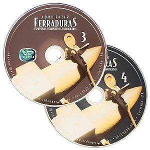 dvd como fazer ferraduras - 4dvds