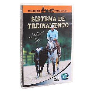 dvd sistema de treinamento - coleçao vaquejada