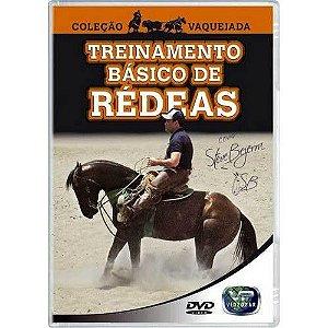 dvd treinamento basico de redeas - coleçao vaquejada