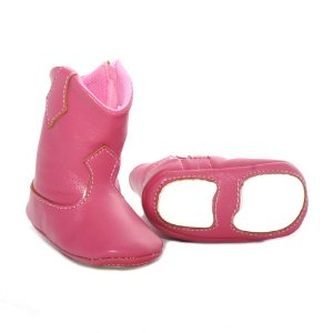 botinha infantil rosa - jneves baby
