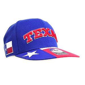boné texas azul - forty seven brand
