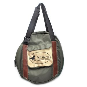 Bolsa Para Laço Bolso Externo Verde - Full Horse