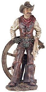 cowboy com mãos na cintura oway 53 x 28 x 19 cm