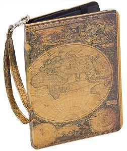 case ipad mini mapa mundi oldway 25 x 20cm