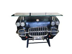 aparador frente de carro corvette black oldway 93x127x45cm